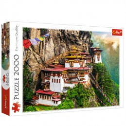 Tiger's Nest, Bhutan 2000pc