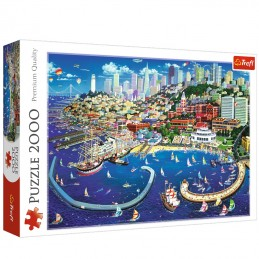 San Francisco Bay 2000pc