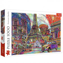 Colours of Paris 1000pc