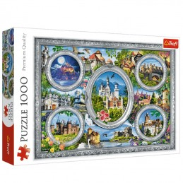 Castles of the world 1000pc