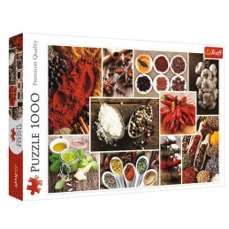 Spices Collage / Fotolia...