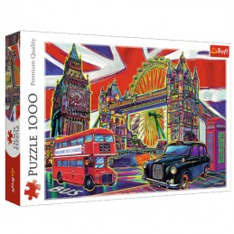 Colours of London 1000pc