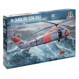 H-34G.lll/UH-34J ESCALA 1:48